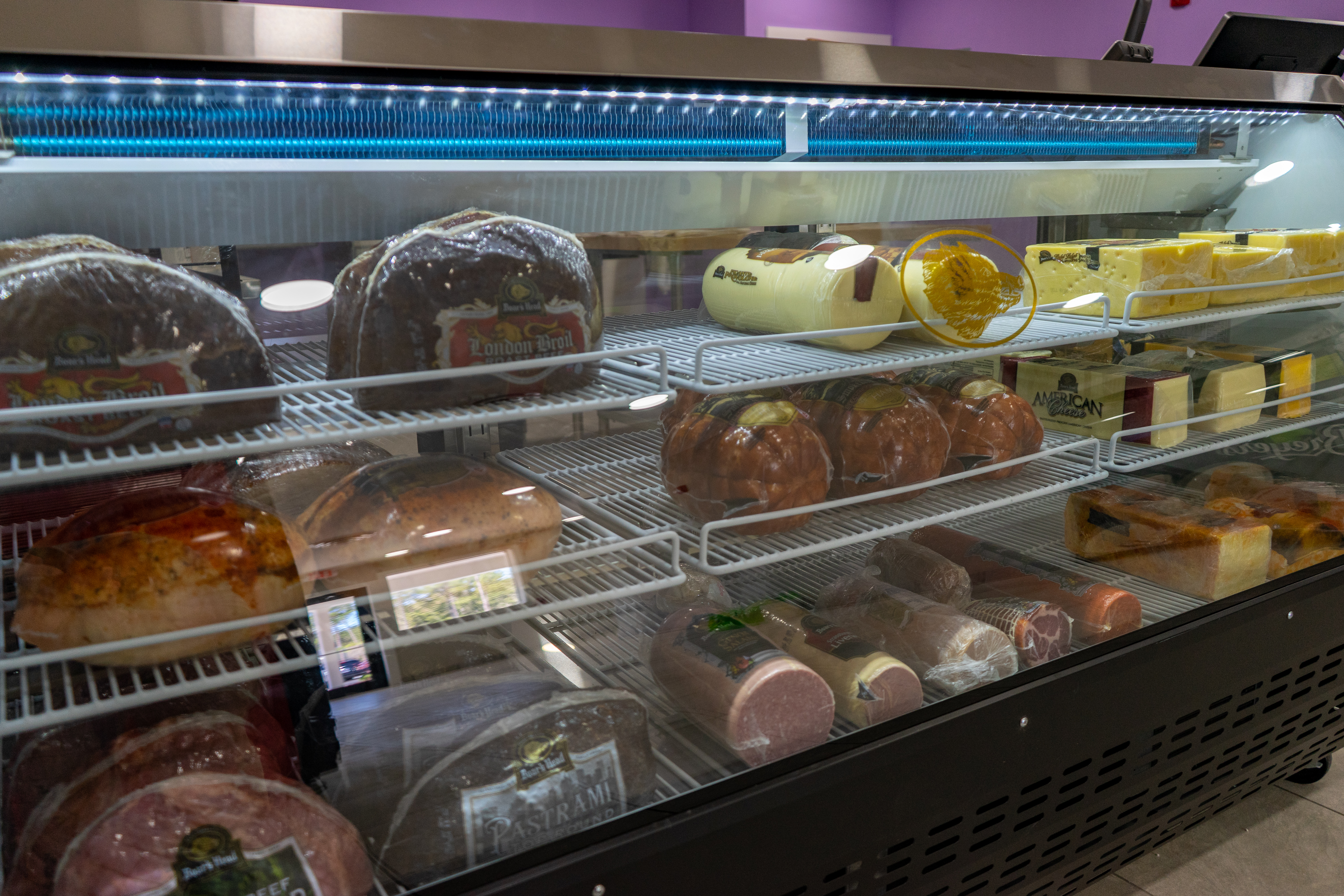 We have deli meats available for puchase!