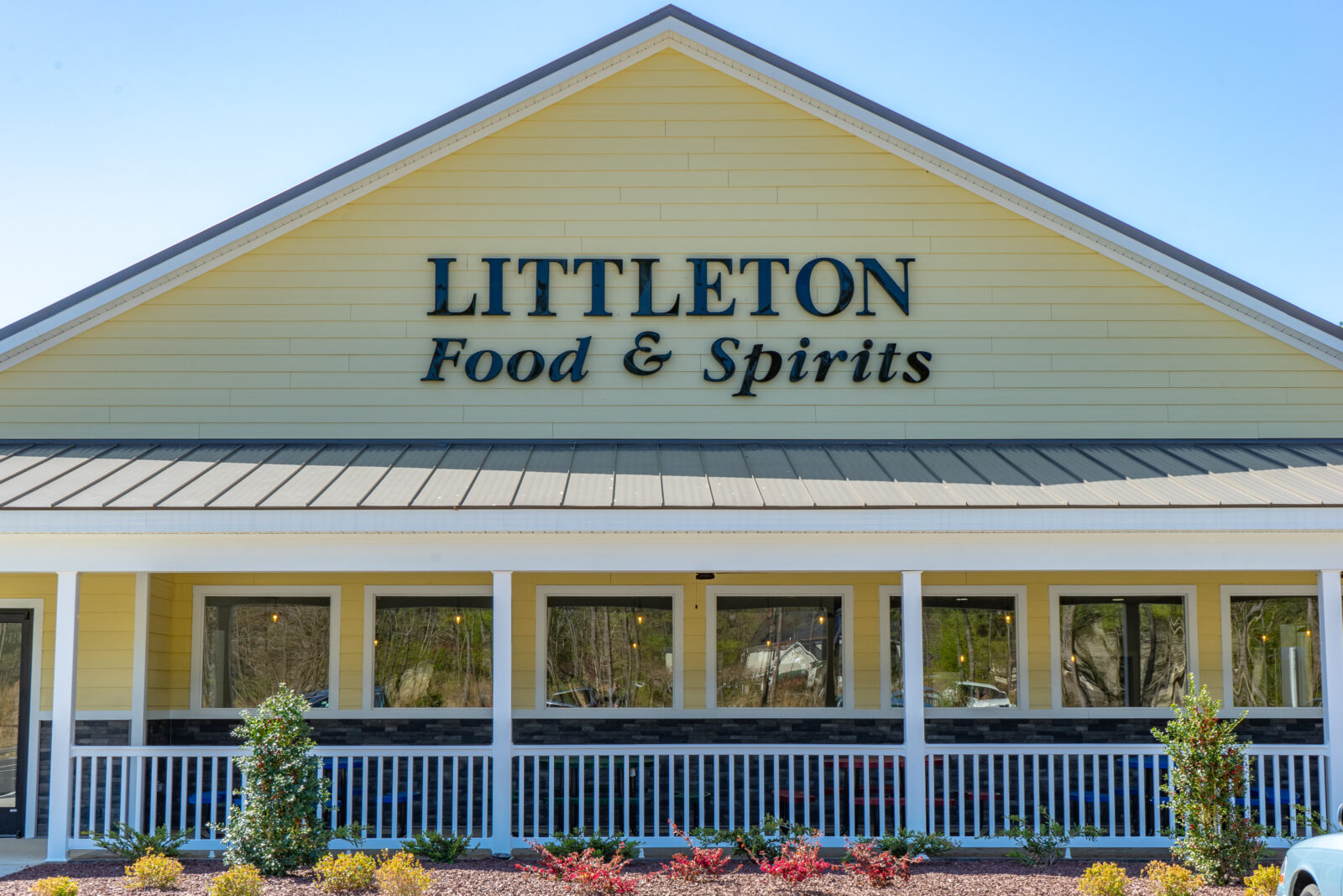 Littleton Food & Spirits front of building